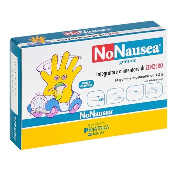 NoNausea 24 Gomme Masticabili Contro la Nausea