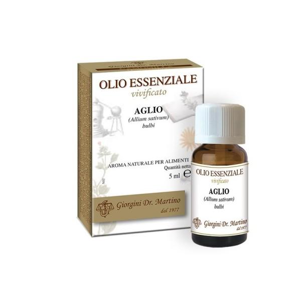Aglio Olio Essenziale 10 ml Dr. Giorgini - Aroma per Alimenti