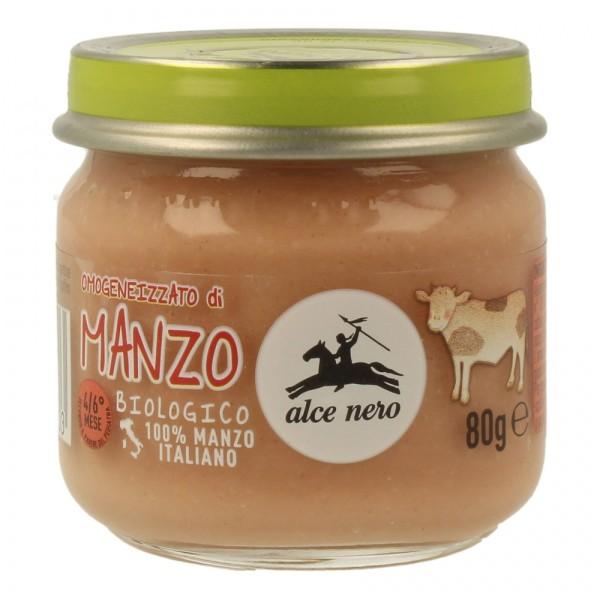 Alce Nero Omogeneizzato Manzo Bio 80 grammi