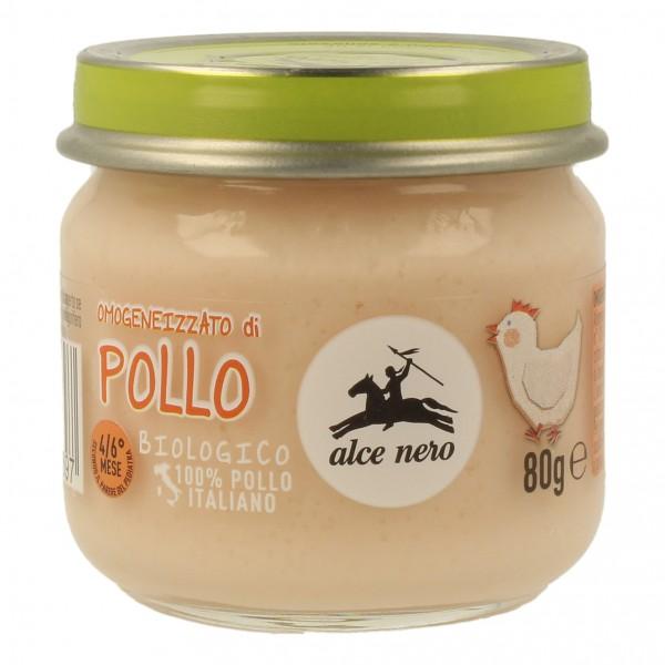 Alce Nero Omogeneizzato Pollo Bio 80 grammi