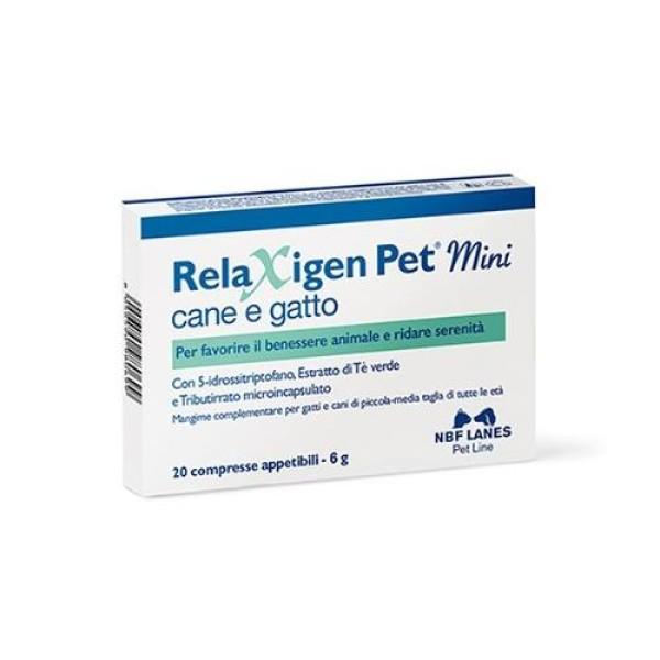 Relaxigen Pet Mini 20 Compresse - Integratore Veterinario