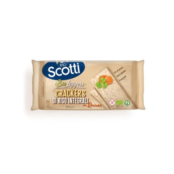 Scotti Crackers Integrali con Quinoa 160 grammi