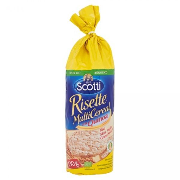 Scotti Risette Multi-Cereali 130 grammi