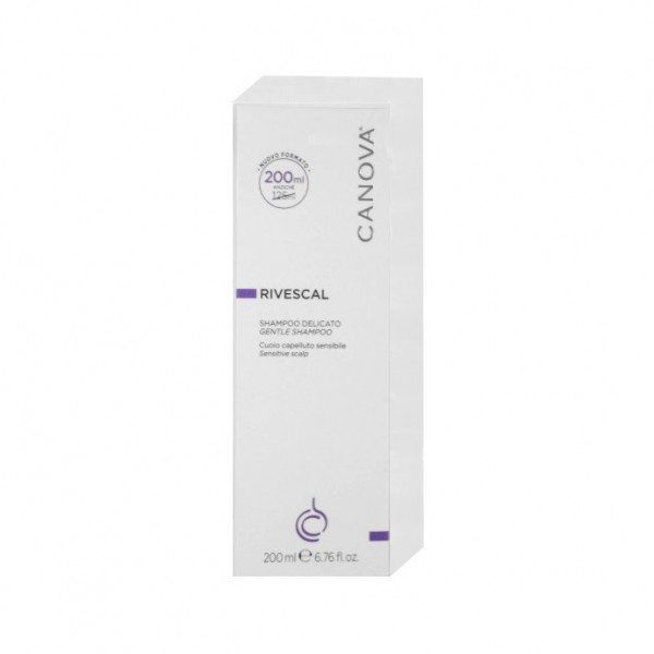 Canova Rivescal Shampoo Detergente Delicato 200 ml
