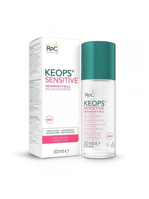 Roc Keops Deodorante Sensitive Pelle Fragile Roll On 30 ml