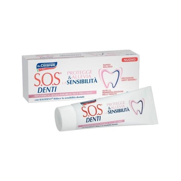 SOS Denti Dentifricio Denti Sensibili 75 ml