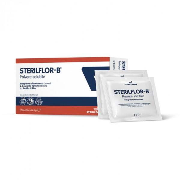Sterilflor-B 12 Bustine - Integratore Benessere Intestinale