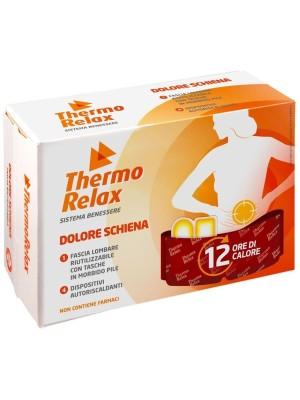 Thermo Relax Ricarica Fascia Lombare + 4 Dispositivi Terapeutici Autoriscaldanti