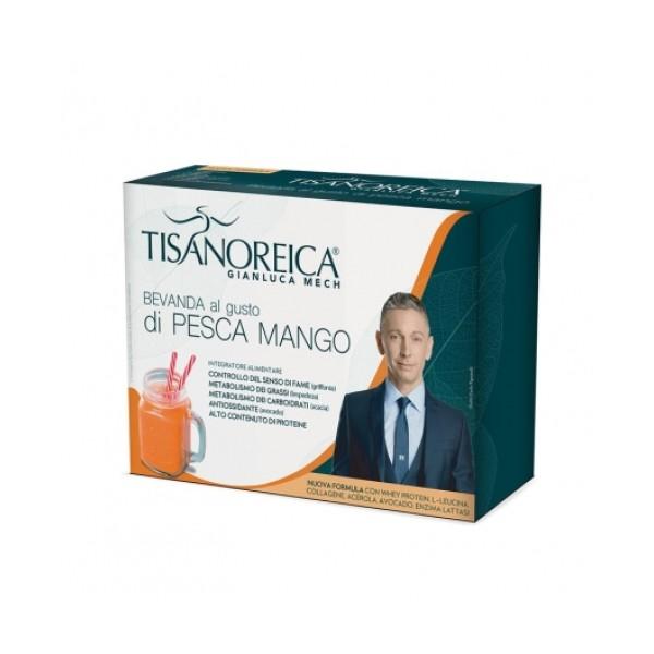 Tisanoreica Bevanda alla Pesca Mango 4 x 29 grammi