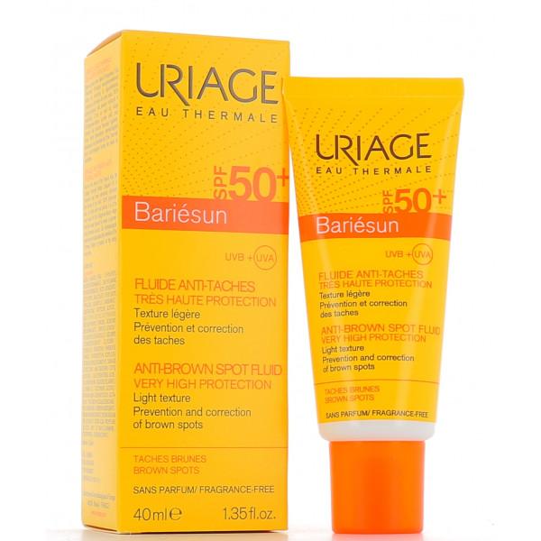 Uriage Bariesun Fluido Solare Antimacchia SPF 50+ Protezione Viso 40 ml