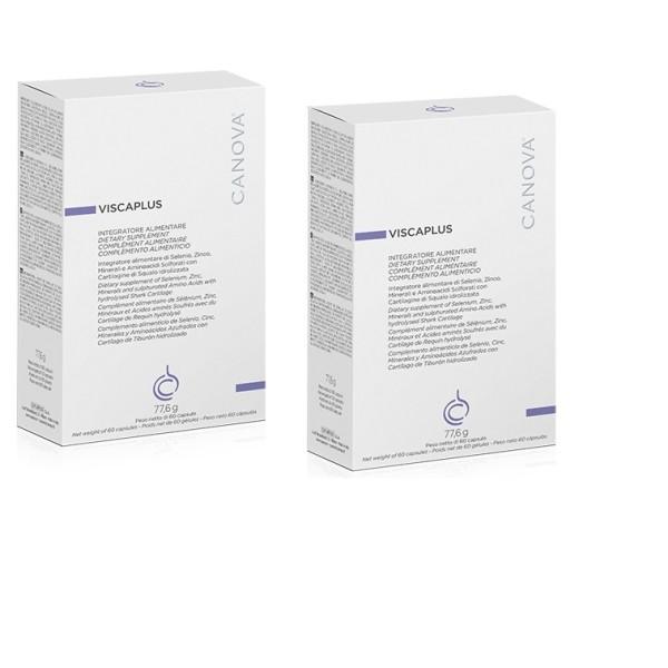 Canova Viscaplus Bipack 60 + 60 Softgel - Integratore Capelli Fragili
