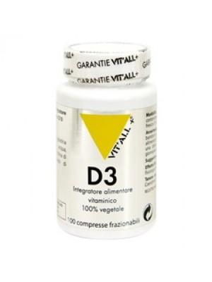 Vitamina D3 Vegetale 100 Compresse - Integratore Difese Immunitarie