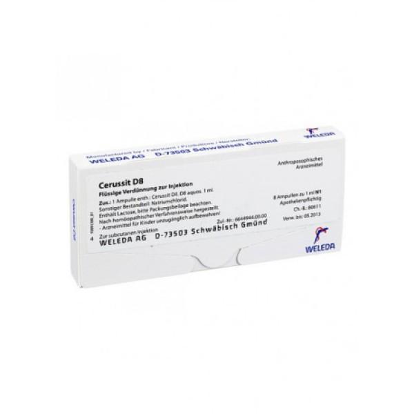Weleda Cerussit D8 8 Fiale - Medicinale Omeopatico