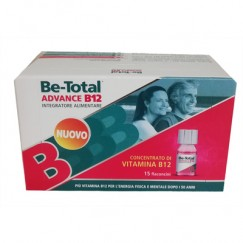 Be-Total Advance B12 Integratore di Vitamine B12  15 Flaconcini