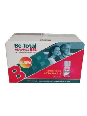 Be-Total Advance B12 Integratore di Vitamine B12  15 Flaconcini