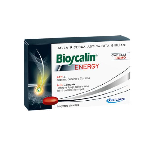 Bioscalin Energy Anticaduta Capelli Uomo Integratore Alimentare 30 Compresse