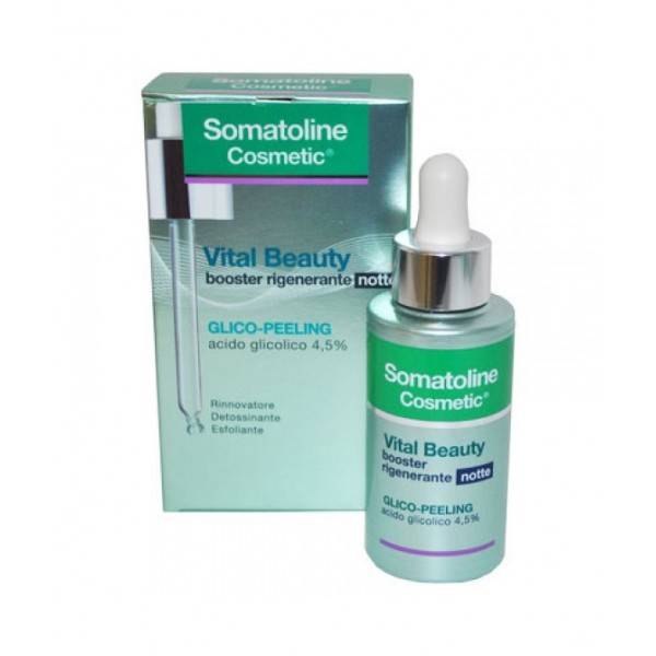 Somatoline Cosmetic Vital Beauty Booster Rigenerante Notte 30ml