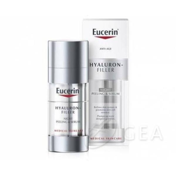 Eucerin Hyaluron-Filler Peeling&Serum Notte 30ml