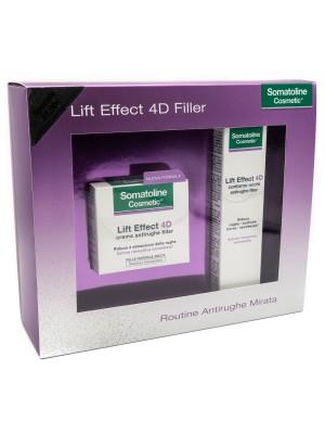 Somatoline Cosmetic Lift Effect 4D Filler Cofanetto Crema Giorno 50 ml + Contorno Occhi 15 ml
