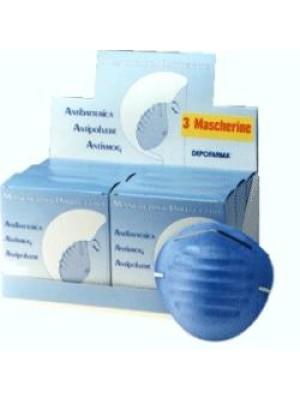 Mascherina Protettiva Antibatterica 3 pezzi