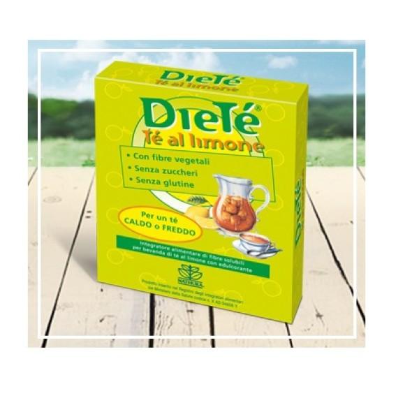 Dietè Thè al limone solubile senza zucchero 10 bustine
