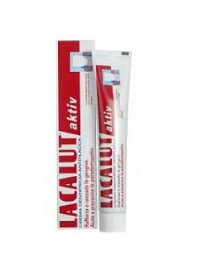 Lacalut Aktiv Dentifricio Antiplacca 75 ml