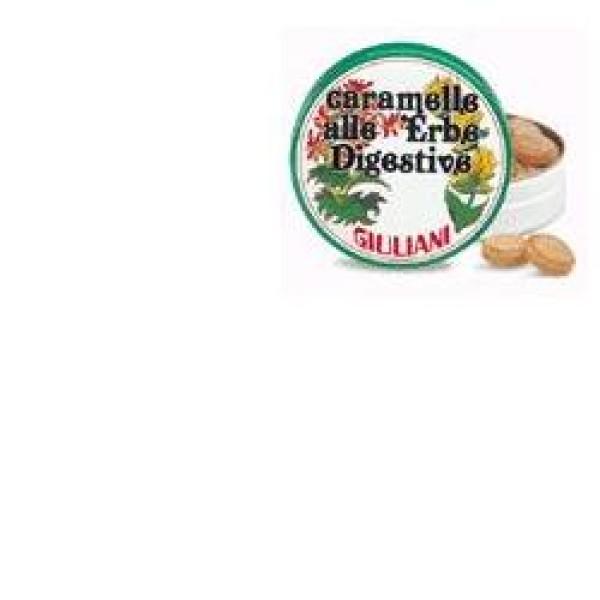 Caramelle alle Erbe Digestive Giuliani Scatola 60 grammi