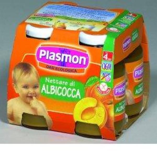 Plasmon Bebifrutt Albicocca 4 x 125ml