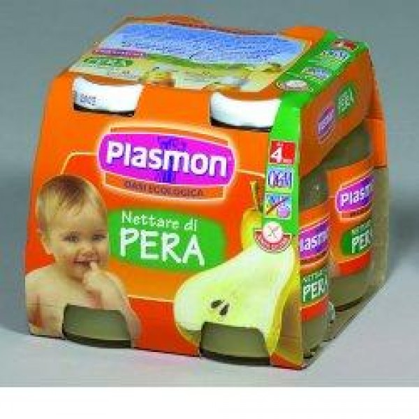 Plasmon Bebifrutt Pera 4 x 125ml