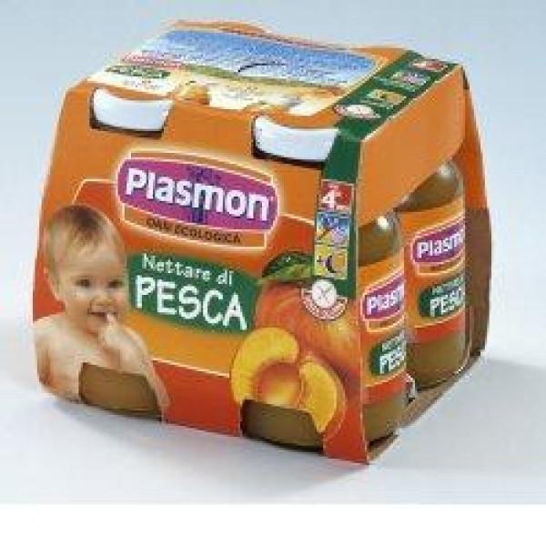 Plasmon Bebifrutt Pesca 4 x 125ml