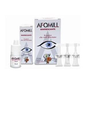 Afomill Rinfrescante Gocce Oculari 10 Flaconcini Monodose