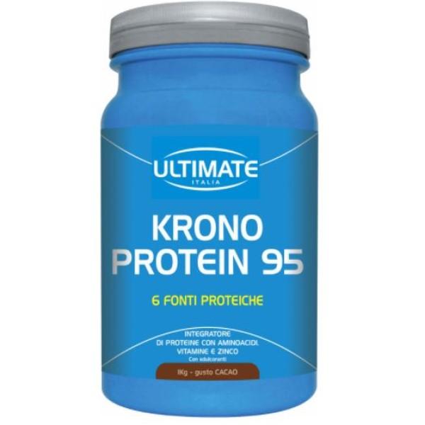 Ultimate Sport Krono Protein 95 Gusto Banana 1 Kg - Integratore Proteico