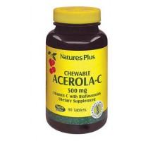 Nature's Plus Acerola C 90 Tavolette 500 mg - Integratore Vitaminico