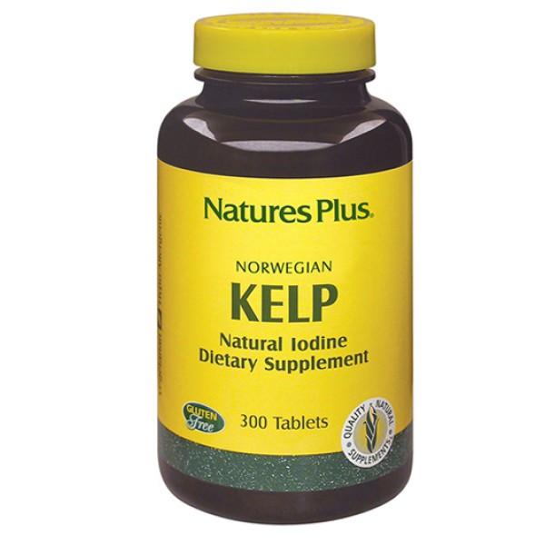Nature's Plus Alghe Kelp 300 Tavolette - Integratore Alimentare