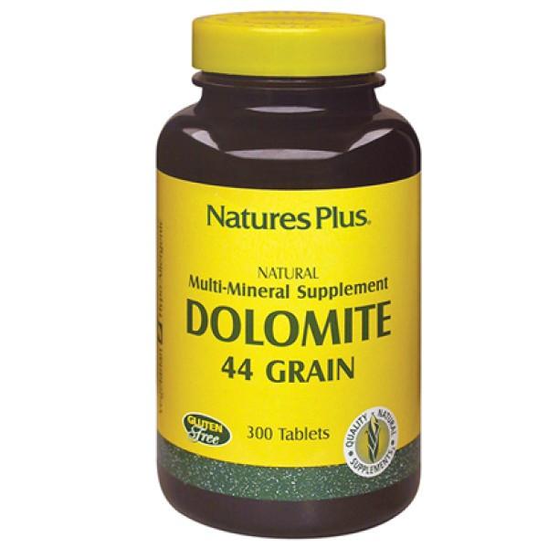 Nature's Plus Dolomite 300 Tavolette - Integratore di Calcio e Magnesio