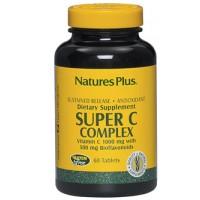 Nature's Plus Super C Complex 60 Tavolette - Integratore Vitamina C