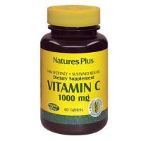 Nature's Plus Vitamina C 1000  60 Tavolette - Integratore Alimentare