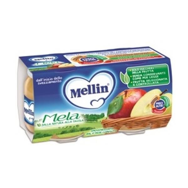 Mellin Omogeneizzato Mela 2 x 100 grammi