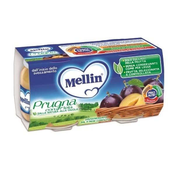Mellin Omogeneizzato Prugna 2 x 100 grammi