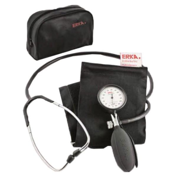Farmacare Erka Kibotest Sfigmomanometro Aneroide con Fonendoscopio