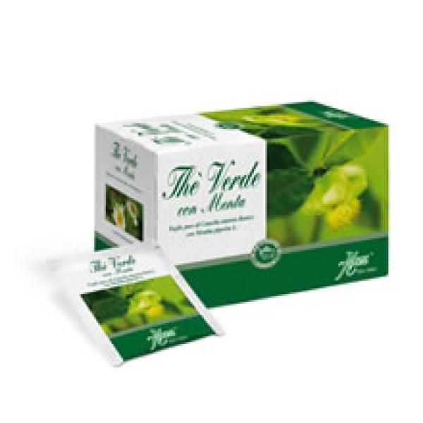 Aboca The' Verde Tisana con Menta 20 Bustine