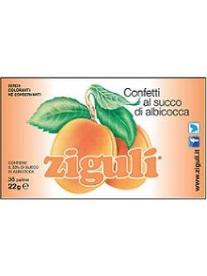 Ziguli' Albicocca 36 confetti - Integratore Alimentare