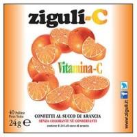 Ziguli' C Arancia 40 Confetti - Integratore Vitamina C