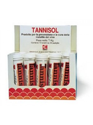 Tannisol Preparato per Mantenere Sani i Vini 10 Compresse