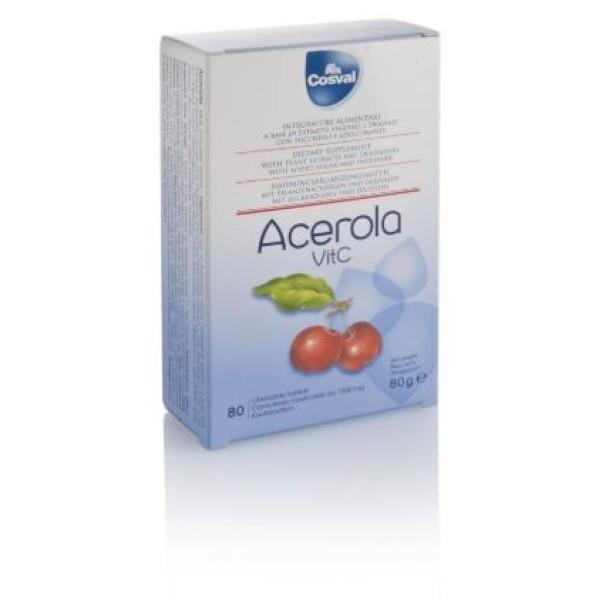 Acerola Vitamina C 80 Tavolette - Integratore Alimentare