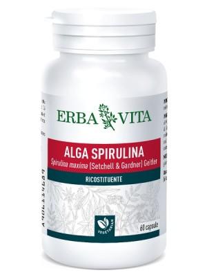 Erba Vita Alga Spirulina 60 Capsule - Integratore Ricostituente