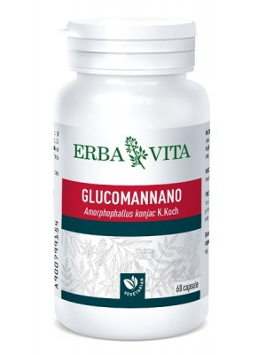 Erba Vita Glucomannano 60 Capsule - Integratore Intestinale