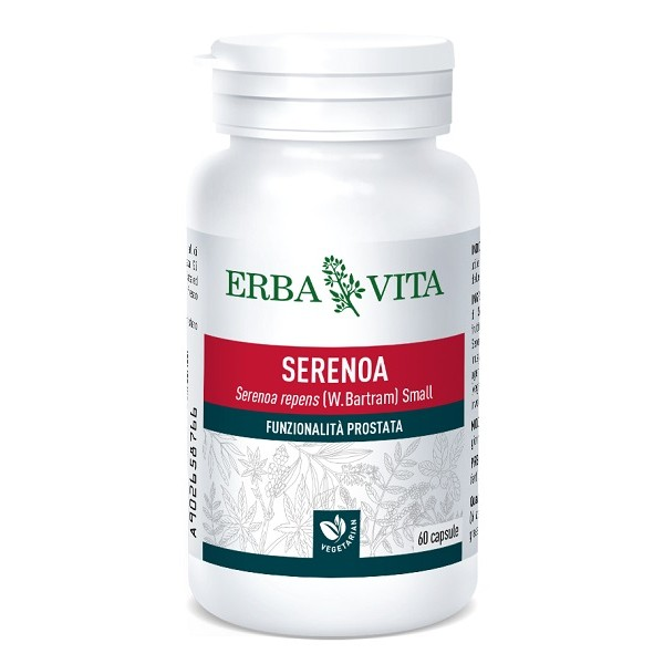 Erba Vita Serenoa 60 Capsule - Integratore Prostata