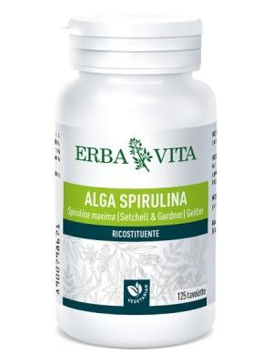 Erba Vita Alga Spirulina 125 Tavolette - Integratore Ricostituente