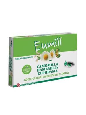 Eumill Camomilla Gocce Oculari Rinfrescanti e Lenitive 10 Flaconcini Monodose
